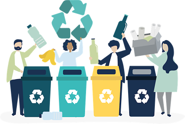 Employee Health And Climate Change - Recycling