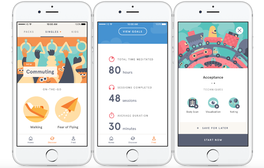 Headspace App - Do meditation apps work?
