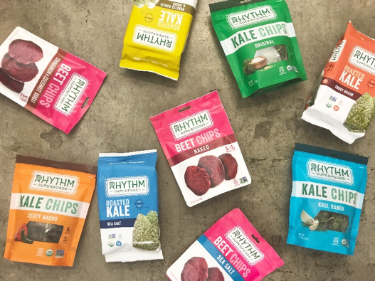 Rhythm Superfoods Wellable's list of healthy office snack