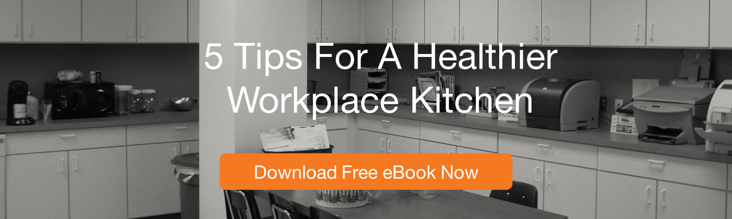healthy workplace kitchen ebook, wellable, healthy kitchen, employee wellness