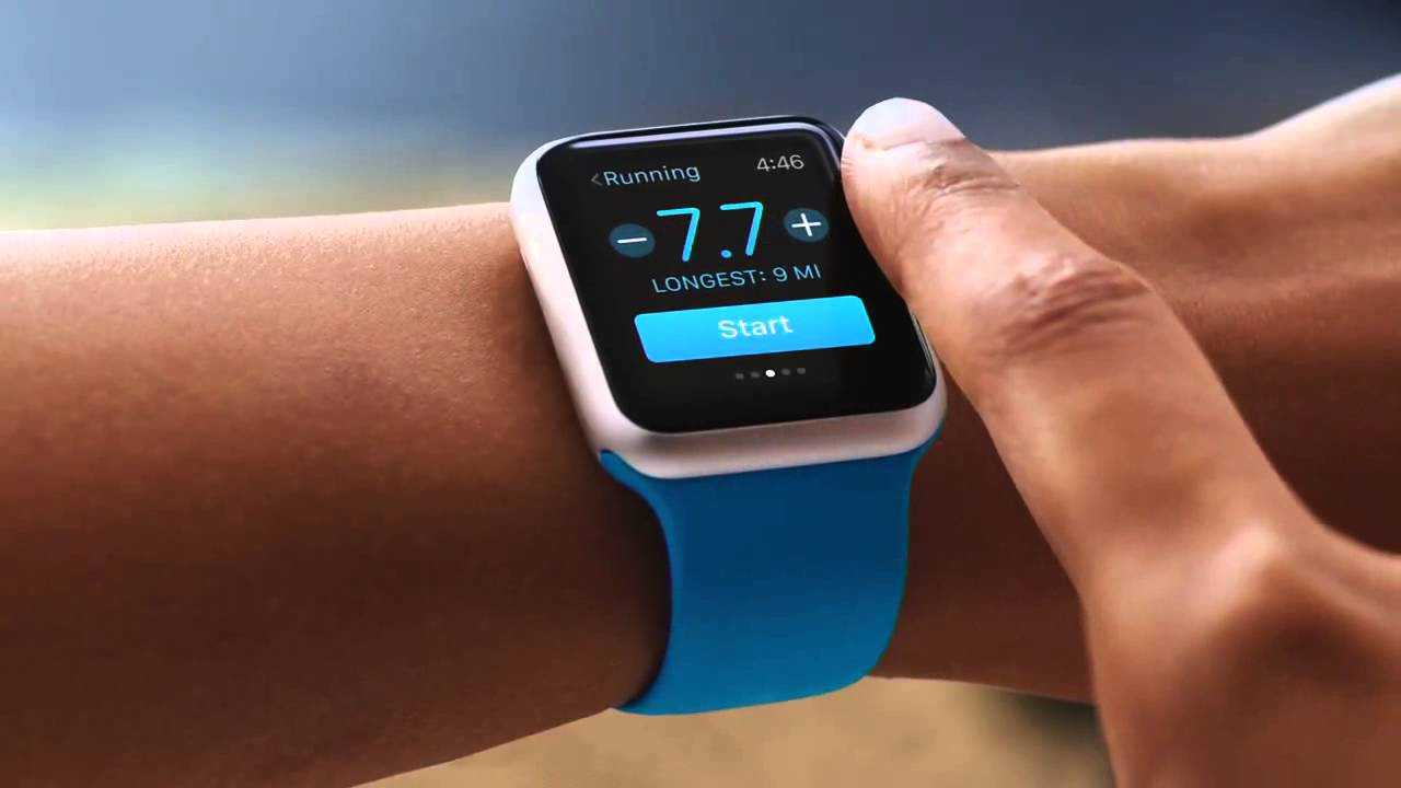 apple watch fitness, apple watch on wrist, corporate wellness