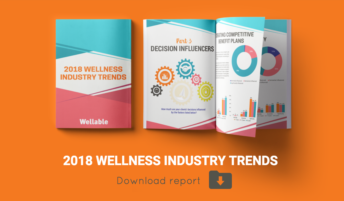 Download 2018 Wellness Industry Trends Report